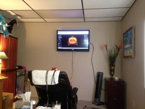 QEEG brain mapping looks like this